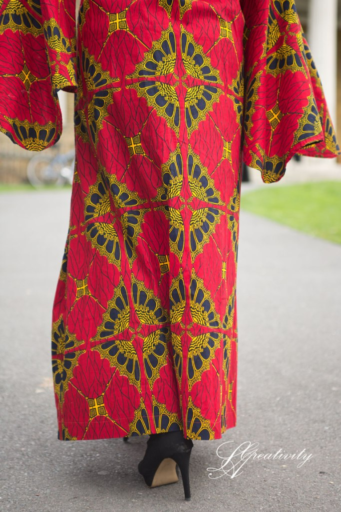 The Sisterhood of the Travelling Dress,Ankara print, Ankara Travelling dress, Traveling dress, Marianne Miles, UKBFTOG, UK Black Female Photographer, Photography Project, Lifestyle Photographer, London Photographer, Clissold Park